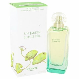 Hermes Un Jardin Sur Le Nil Women's 3.4-ounce Eau de Toilette Spray - Clear