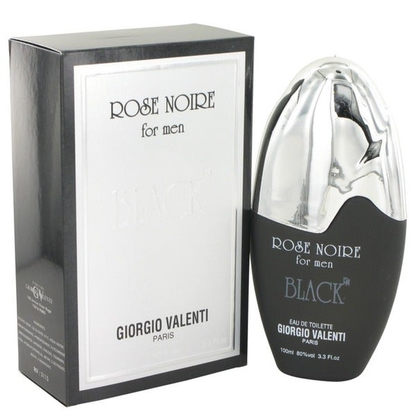 Giorgio Valentini Rose Noire Black Men's 3.3-ounce Eau de Toilette Spray