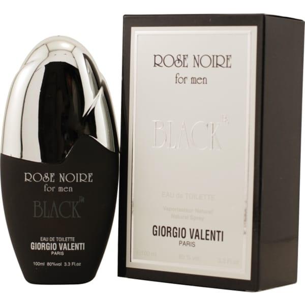 Giorgio Valentini Rose Noire Black Men's 3.3-ounce Eau de Toilette Spray
