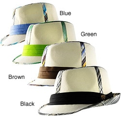 H2W Brand Preppy Men's Fedora