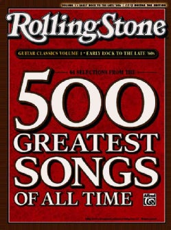 Rolling Stone Guitar Classics: Early Rock to the Late '60s: Easy Guitar Tab Ediiton: 61 Selections From The 500 G... (Paperback)
