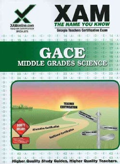 Gace Middle Grades Science (Paperback)