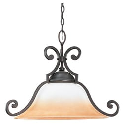 Brandywine Brindisi Bronze Finish 1-light Downlight Pendant
