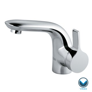 VIGO Single Lever Chrome Finish Faucet Model VG01027CH