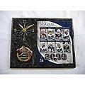 Dallas Cowboys Team Picture Plaque Clock