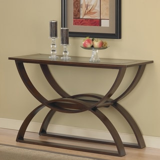 Bentwood Walnut Sofa Table
