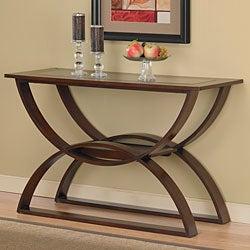 Bentwood Walnut Sofa Table