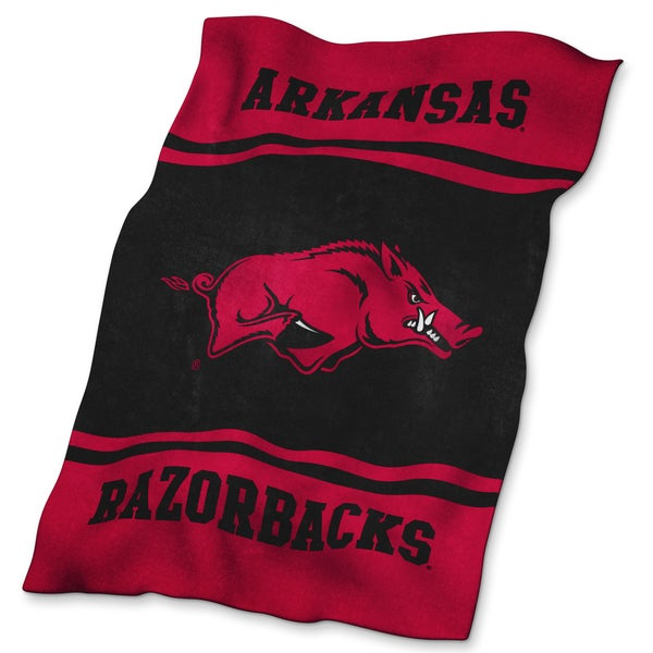 University of Arkansas Ultra Soft Throw Blanket