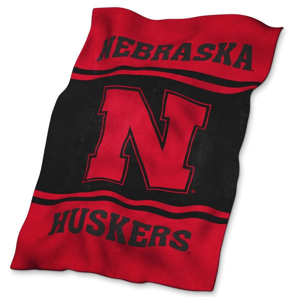 Nebraska Ultra-soft Oversized Throw
