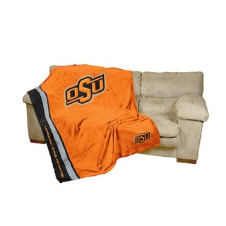 Oklahoma State Ultra-soft Oversize Throw Blanket