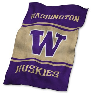 Washington UltraSoft Oversized Throw Blanket