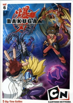Bakugan Volume 6: Time For Battle (DVD)