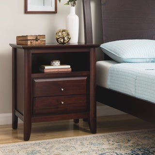 Contemporary Shaker Nightstand