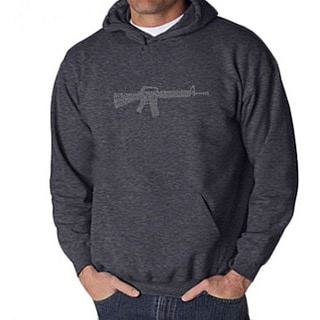 Los Angeles Pop Art Men's Rifle Hoodie