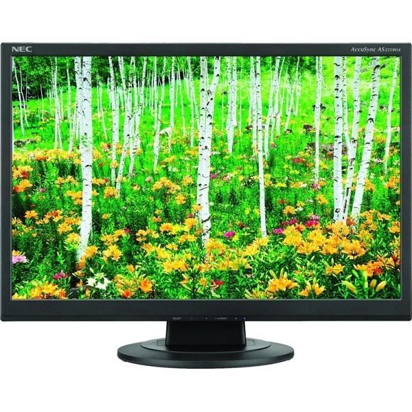 "NEC Display AccuSync AS221WM 22"" CCFL LCD Monitor - 16:10 - 5 ms"