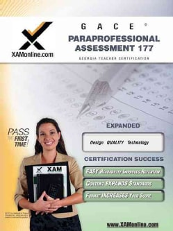 GACE: Paraprofessional Assessment 177: Teacher Certification Exam (Paperback)
