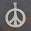 Sterling Silver 'Peace Mark' Pendant (Thailand)