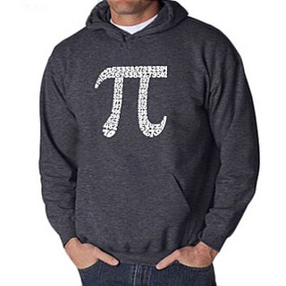 Los Angeles Pop Art 'Pi' Men's Hoodie