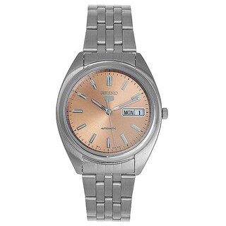 Seiko Men's 5 Stainless Steel Automatic Watch