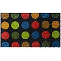 Dots in Color Door Mat (1'6 x 2'6)