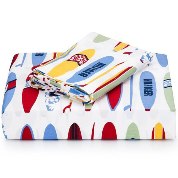 Tommy Hilfiger Surfs Up 4-piece Sheet Set (Full/Queen)
