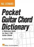 Hal Leonard Pocket Guitar Chord Dictionary (Paperback)