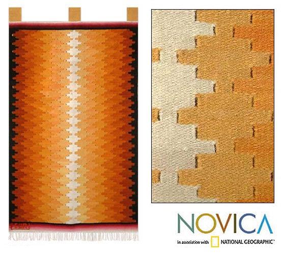 Wool 'Radiance' Tapestry (Peru)