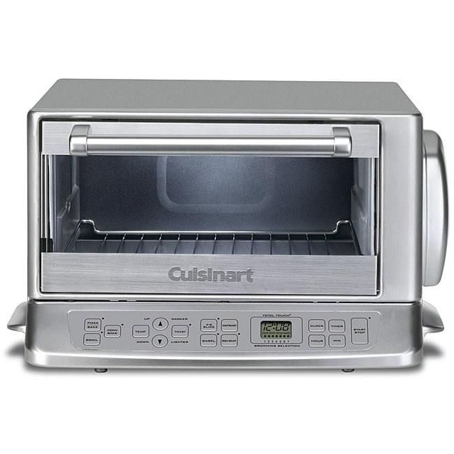 Cuisinart Rotisserie Convection Toaster Oven: Cuisinart TOB-195 Stainless Steel Exact Heat Toaster Oven