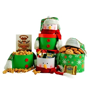 Happy Penguin Ghirardelli Holiday Gift Tower