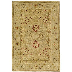 Safavieh Handmade Majesty Light Brown/ Beige Wool Rug (2' x 3')