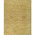Handmade Majesty Light Brown/ Beige Wool Rug (12' x 18')