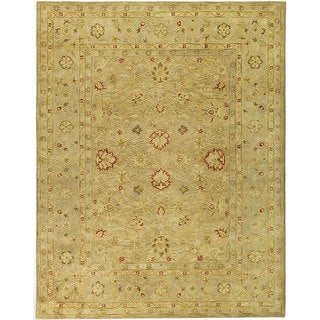 Safavieh Handmade Majesty Light Brown/ Beige Wool Rug (12' x 18')