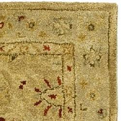 Safavieh Handmade Majesty Light Brown/ Beige Wool Runner (2'3 x 4')