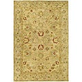 Safavieh Handmade Majesty Light Brown/ Beige Wool Rug (3' x 5')