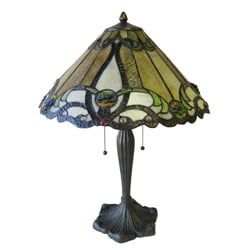 Tiffany-style Victorian Table Lamp