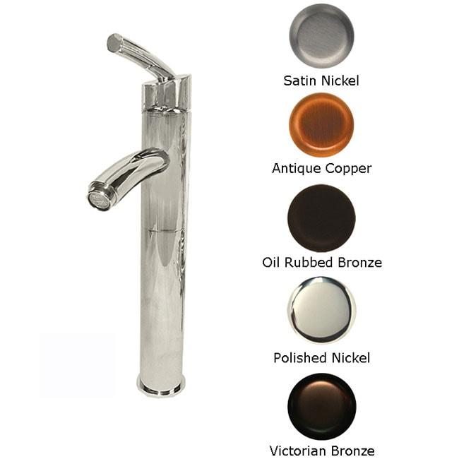 Azure Single-handle One-hole Vessel Sink Faucet