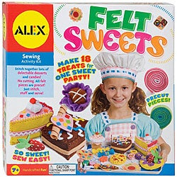Alex Toys Felt Sweets Sewing Activity Kit