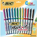 Bic Mark-it Ultra Fine Point Permanent Markers (Package of 12)