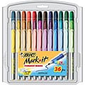 Bic Mark-it Color Fine Point Permanent Markers (Package of 36)