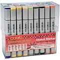 Sketch Marker 36-piece Stamping Set
