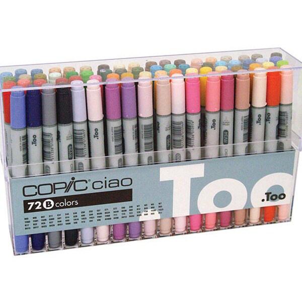 Copic Ciao 72-piece Marker Set