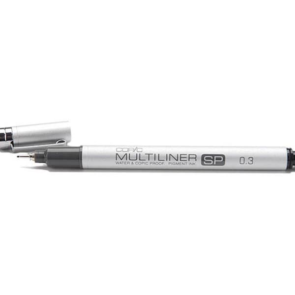 Copic Black Multi-liner Water-proof SP 0.3 Aluminum Tip Marker