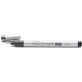 Copic Black Multi-liner Water-proof SP 0.3 Aluminum Tip Marker