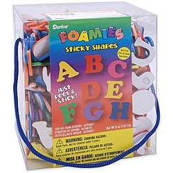 Alphabet Foam Stickers Package