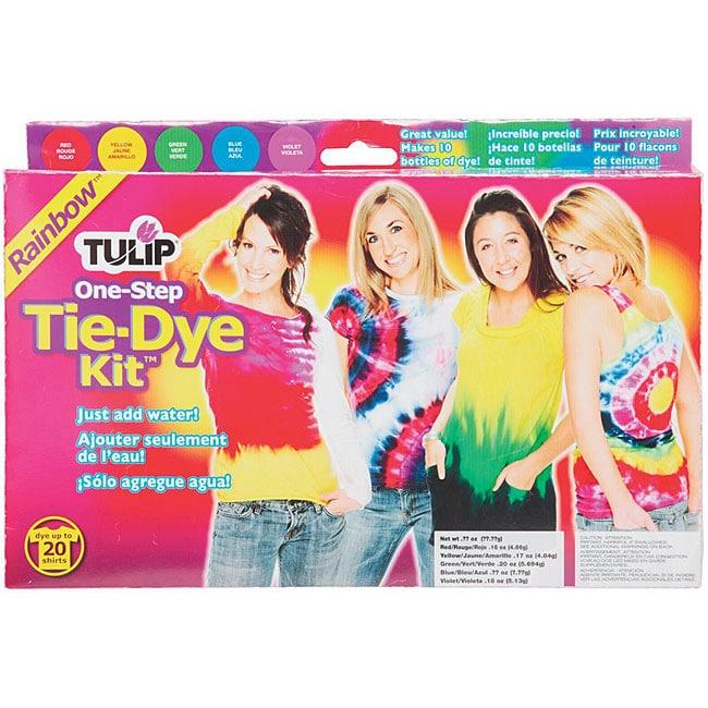 Tulip One-step Rainbow Tie-dye Kit