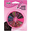 Tulip Glam-It-Up! Assorted Colors 4-mm Iron-on Studs (Pack of 600)