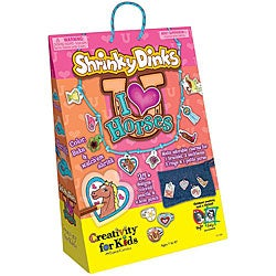 Shrinky Dinks I Love Horses Kit