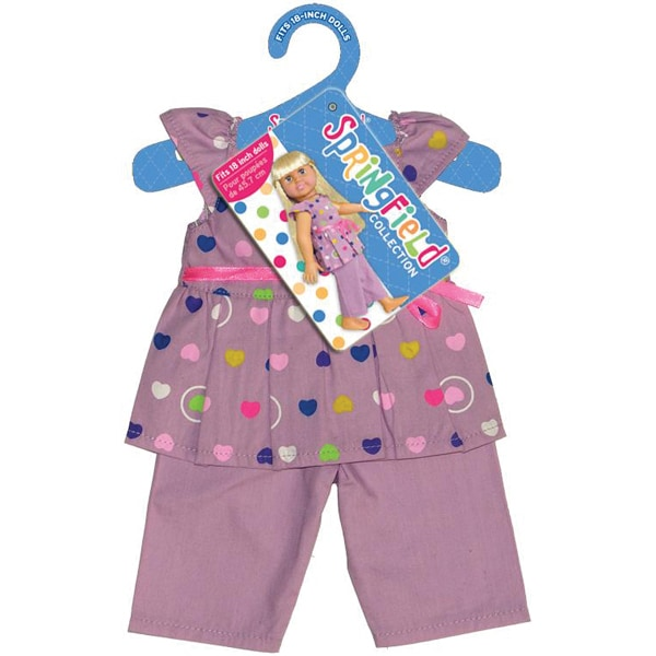 Springfield Collection Purple Pajama Set for Dolls