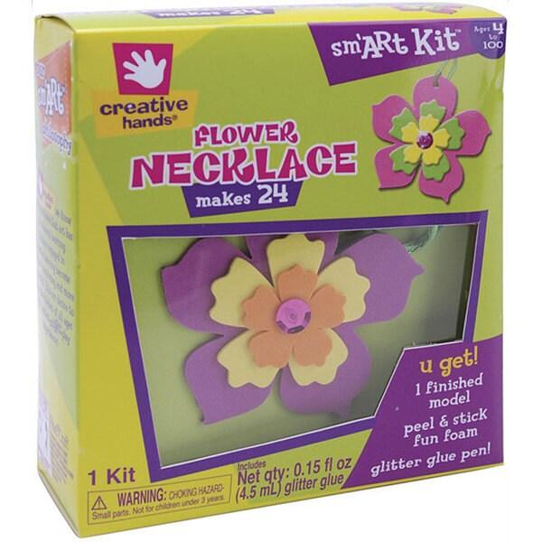 Creative Hands Flower Necklace Foam Kit
