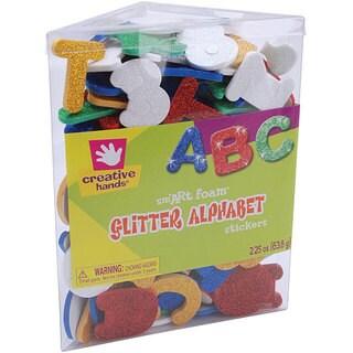 Foam Glitter Alphabet Colorful Stickers